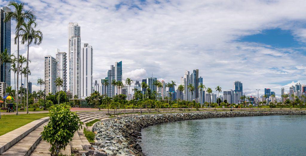 Photographie de la côte de Panama City
