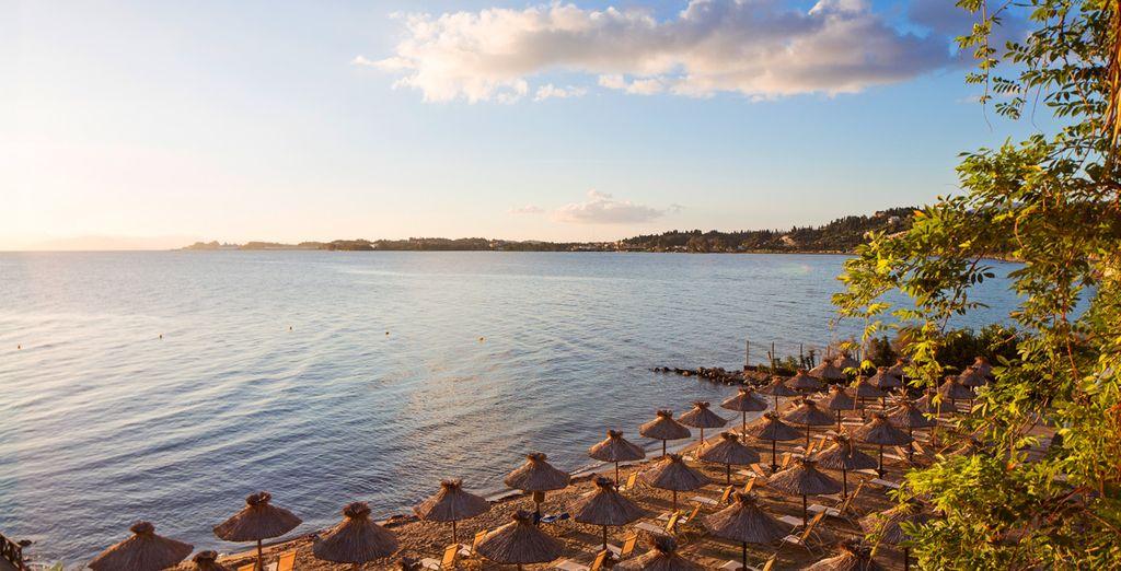 Venez profiter de la douceur de vivre de Corfou - Hôtel Kontokali Bay Resort & Spa ***** Luxe Corfou
