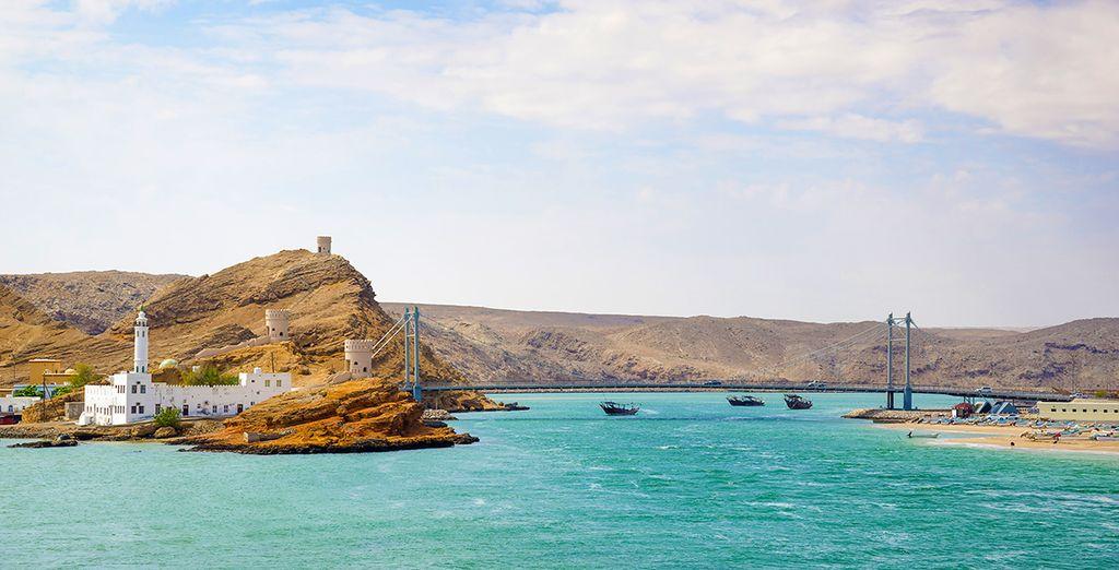 vous continuerez votre aventure au port de pêche de Quriyat