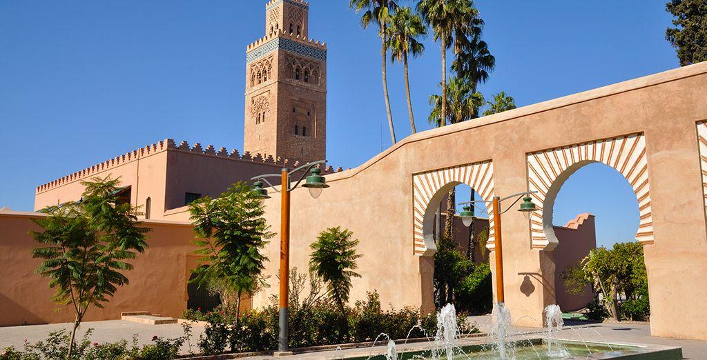 Laissez-vous tenter par un séjour à Marrakech...