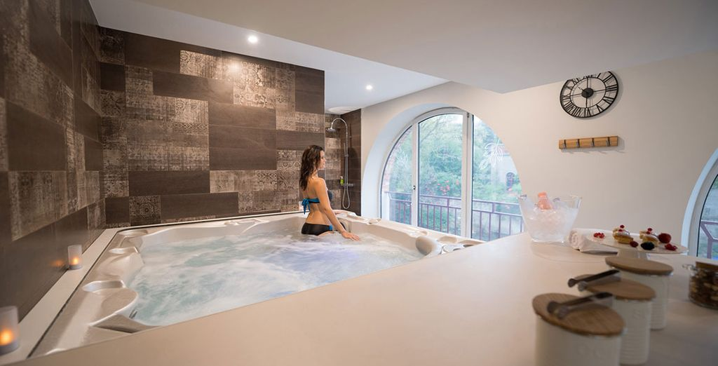 Hôtel haut de gamme avec spa et espace détente