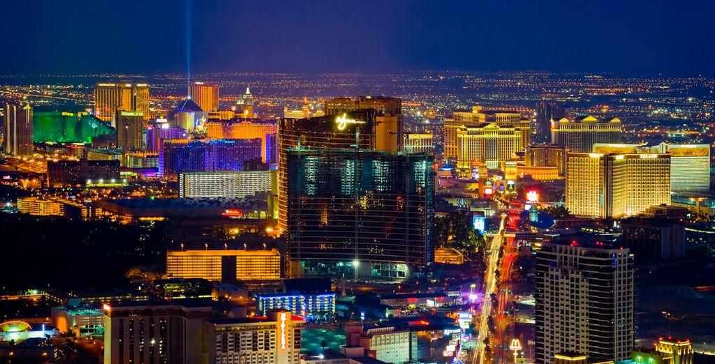 Ou encore Las Vegas, la Cité du Jeu...