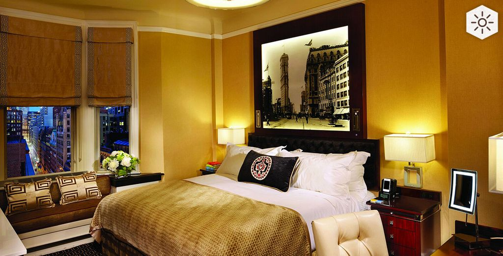 Bienvenue au coeur de l'hôtel Algonquin - Algonquin Hotel **** sup New York