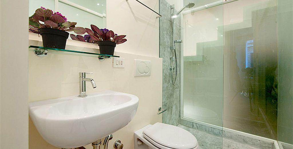 Appartement 4 : La seconde salle-de-bains