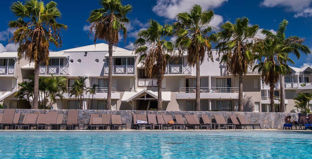 Se niche le Karibea Resort Sainte Luce