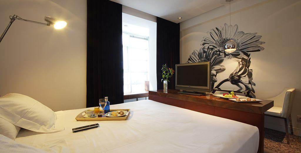 Votre chambre Standard à la décoration élégante et épurée