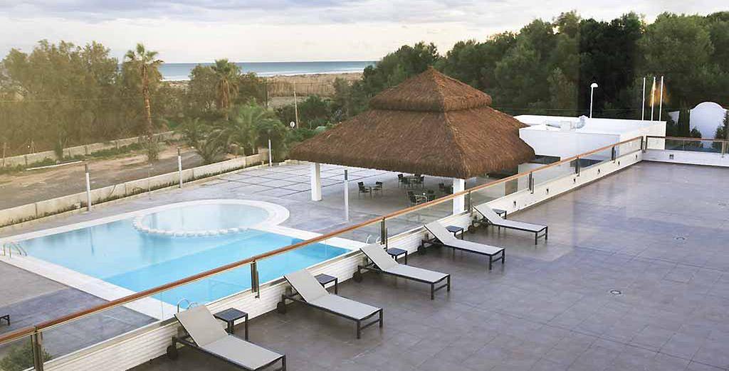 A quelques pas de la plage Playa Almardà