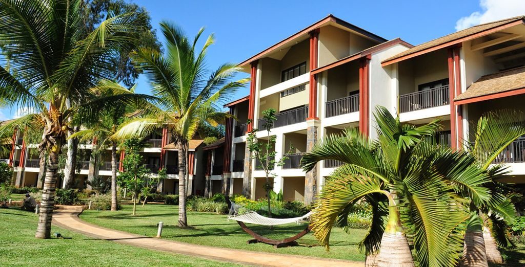 Disséminée dans les jardins ombragés de l'InterContinental Mauritius 5*