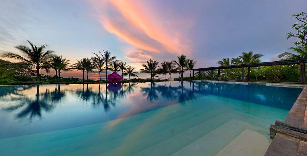 Entre mer, piscine & jardins tropicaux