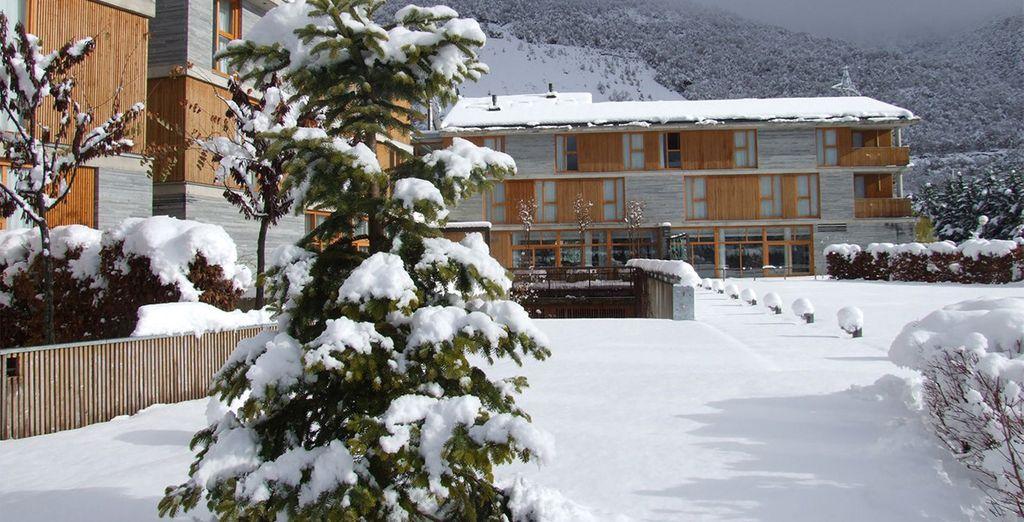 Que se soit en hiver, quand la nature se pare de son grand manteau blanc - Hôtel Tierra de Biescas 4* Biescas