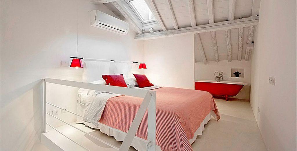 Appartement 4 : La chambre