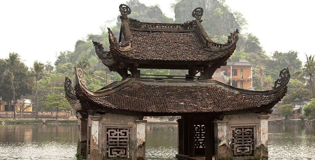 Et ses nombreux temples anciens