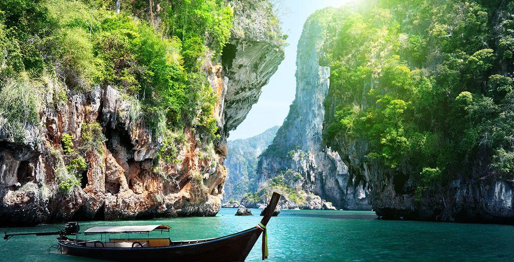 Entre Phuket et Koh Phi Phi