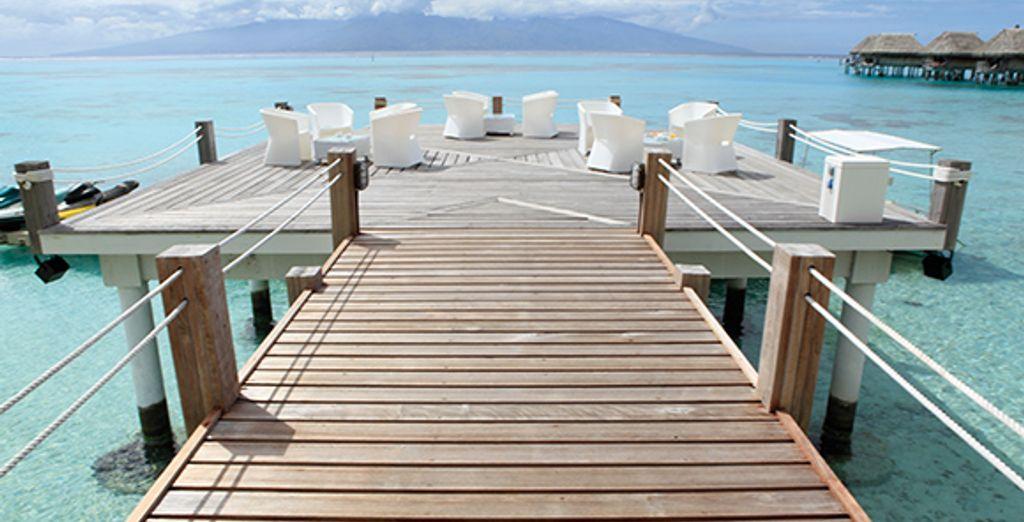 Le Sofitel Moorea Ia Ora Beach Resort 5*... - Combiné 3 îles en Polynésie : Sofitel Moorea Ia Ora Beach Resort ***** & Sofitel Bora Bora Marara Beach Resort **** & Radisson Plaza Resort Tahiti **** Papeete