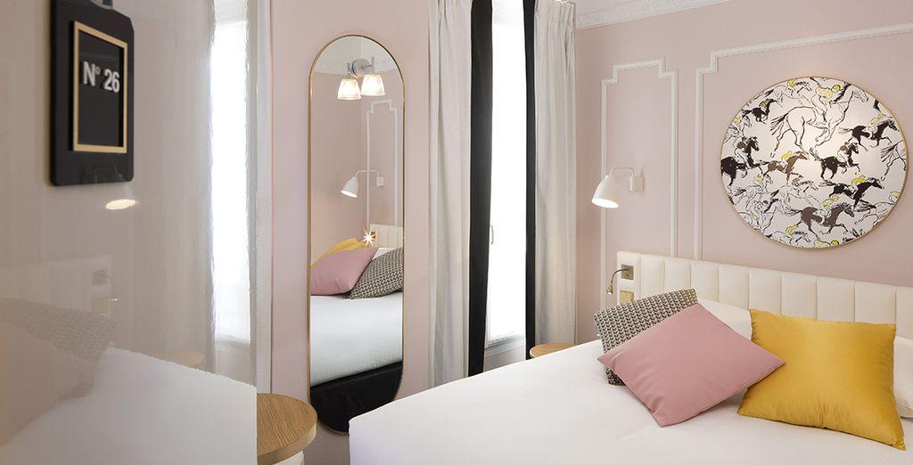 Hôtel haut de gamme, tout confort, au centre de Paris et à proximité de nombreuses activités