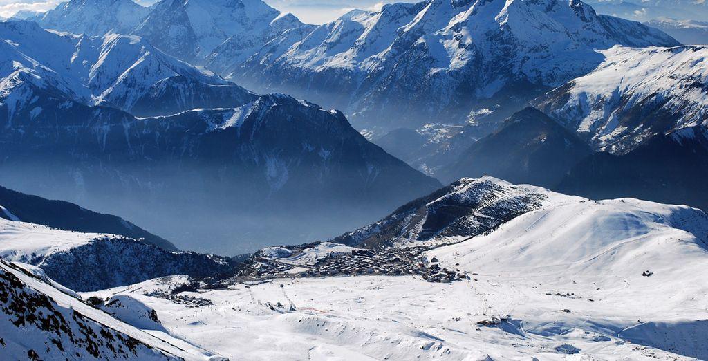 Bonne glisse dans les Alpes !