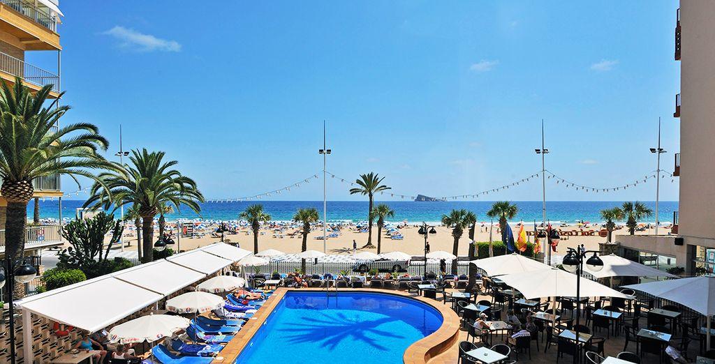 Embarquez pour une virée sous le soleil - Hôtel Sol Costablanca 4* Benidorm