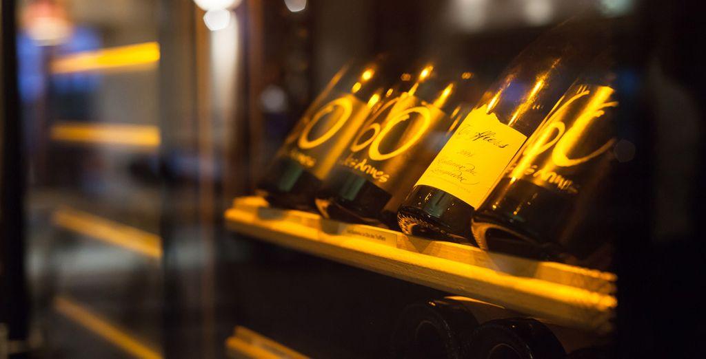 Découvrez la cave à vins et la boutique du terroir