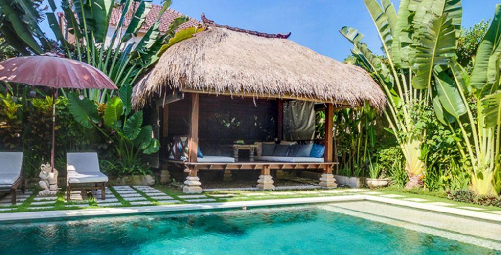 Une villa paradisiaque