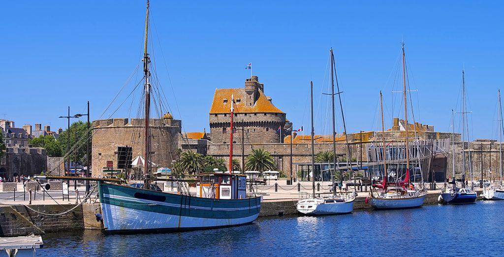 Bienvenue à Saint-Malo