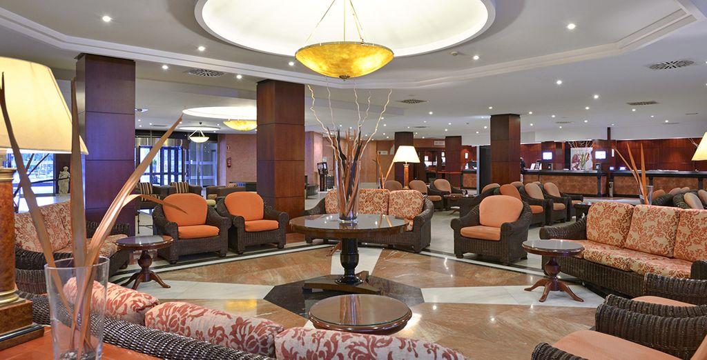 Vous découvrirez un hôtel confortable et élégant