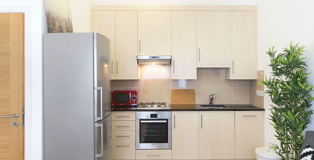 Appartement 2 : La cuisine