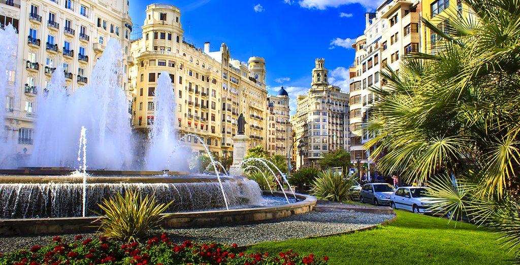 Tenté par un séjour sous le soleil de Valence? - Hotel Vincci Palace 4* Valence