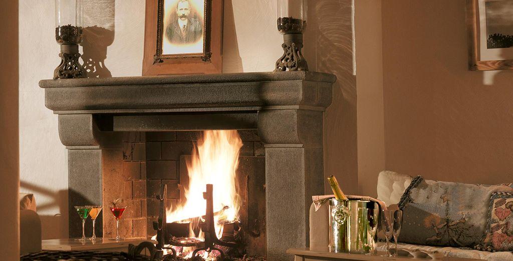 Laissez-vous enivrer par les odeurs et le crépitement d'un feu de cheminée