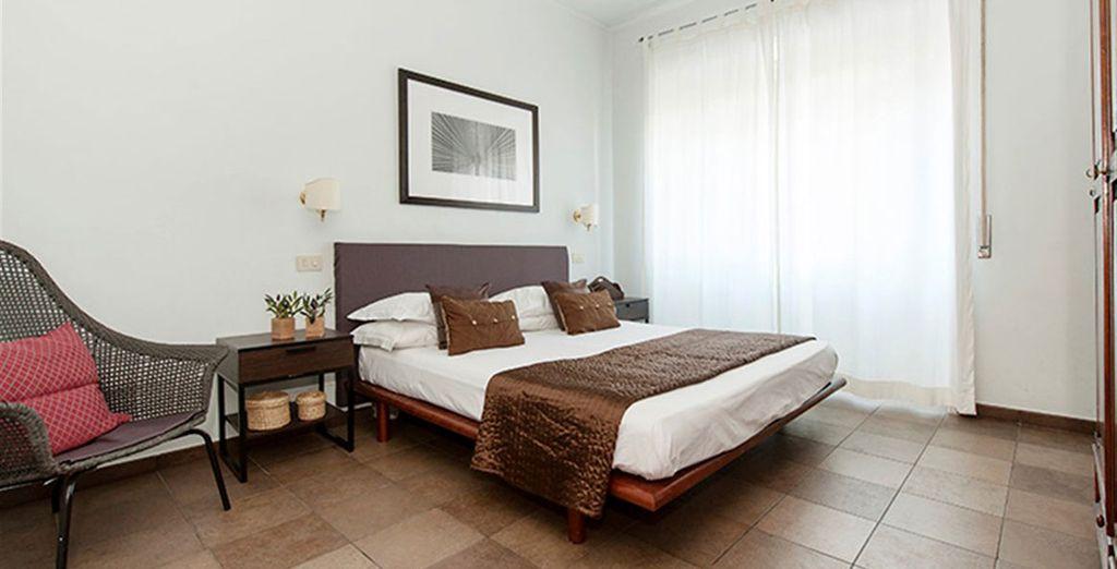 Appartement 7 : La première chambre