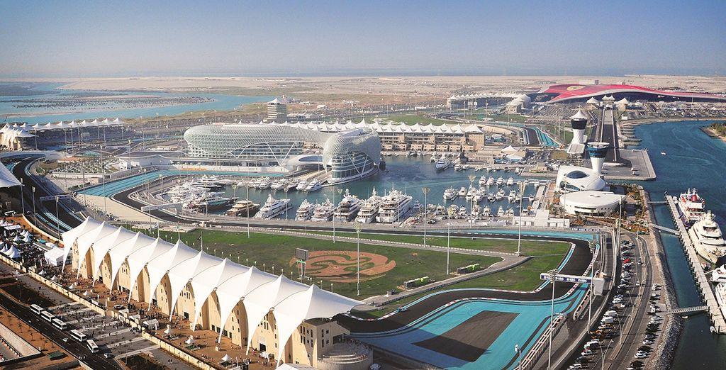 île de yas - Emirats Arabes Unis
