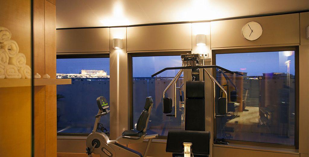 Salle de fitness pour entretenir sa forme