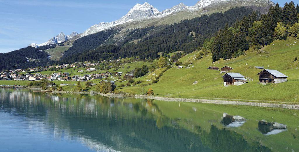 Au cœur des montagnes suisses