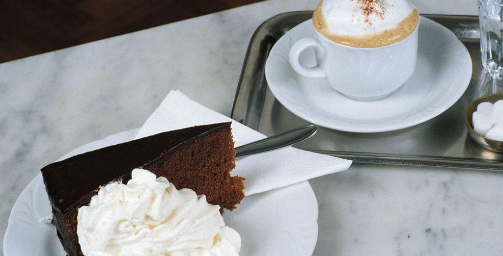 Ou succombez au délice du fameux gâteau Viennois