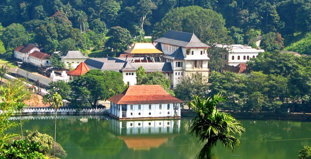 Appréciez l'ambiance unique de ses villes, comme Kandy