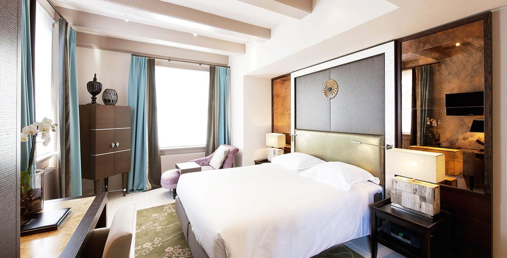 Prenez place dans votre chambre Luxury