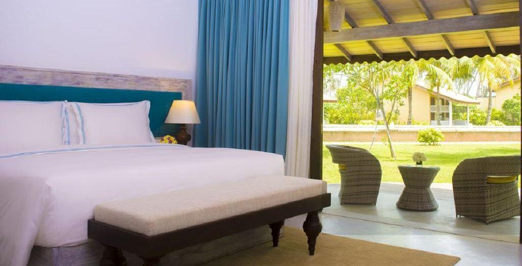 Hôtels de luxe au Sri Lanka, tout confort avec piscine et espace détente, sélectionné par Voyage Privé