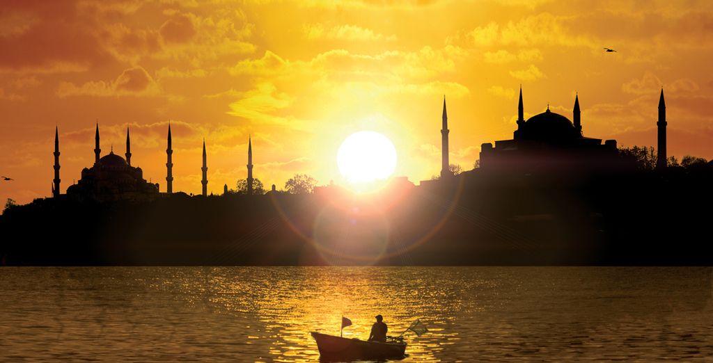 La prochaine étape vous amènera à Istanbul