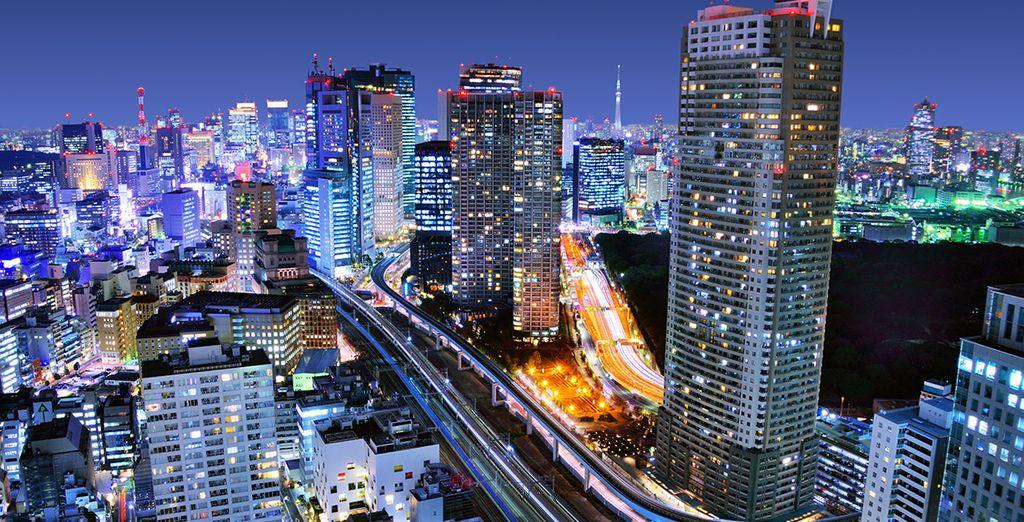 Ou laissez-vous tenter par la découverte des principaux sites d'intérêts de Tokyo