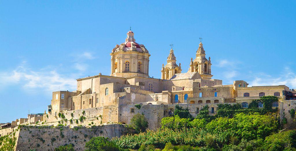 Perché sur le point culminant de l'île de Malte, la vue sera imprenable...