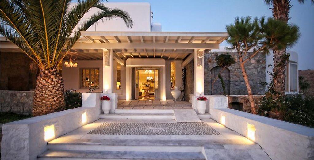 Alors poussez les portes du Palladium 5* - Palladium Boutique Hotel 5* Mykonos