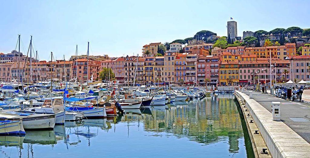 Avant de rejoindre Cannes et son port...