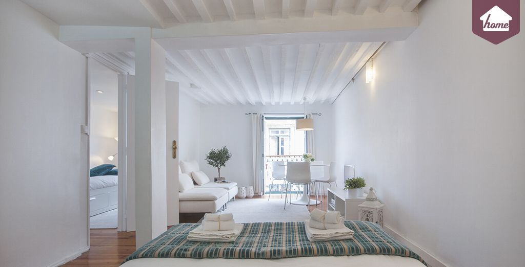 Vous vouliez un appartement spacieux? - Appartement jusqu'à 4 personnes Lisbonne