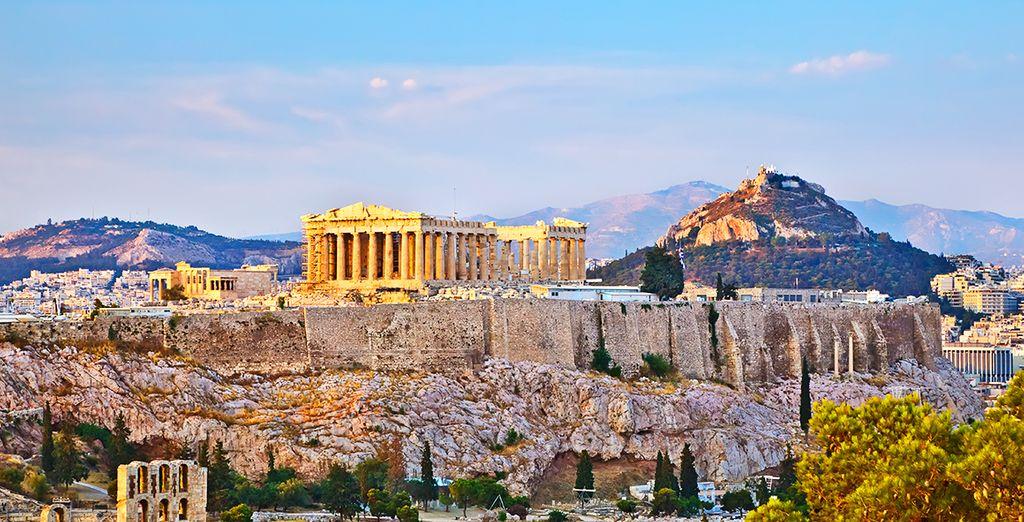 Puis la belle Athènes se dressera devant vous