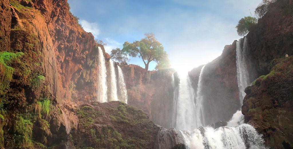 Découvrez les magnifiques Cascades d'Ouzoud