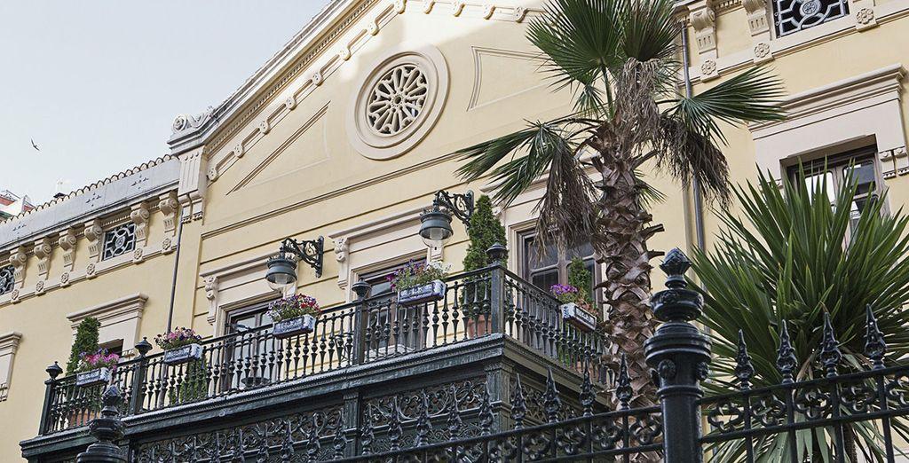 Poussez les portes du Palacio de los Patos