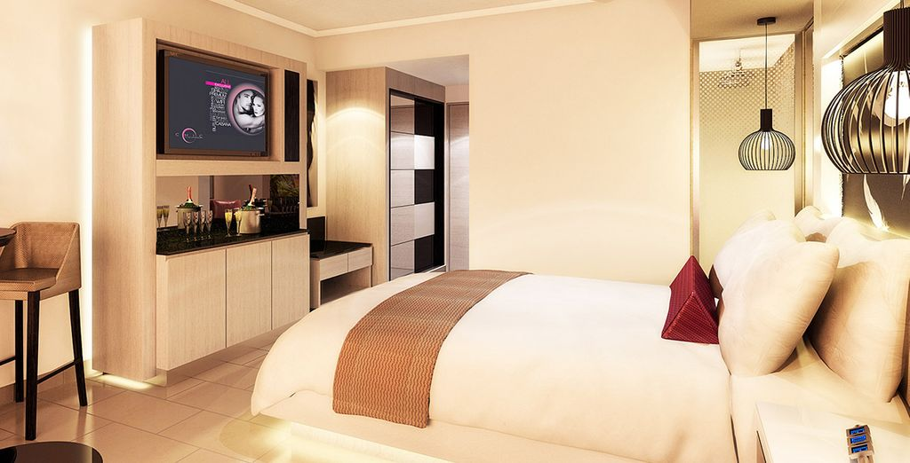 Où vous séjournerez dans la superbe chambre Luxury
