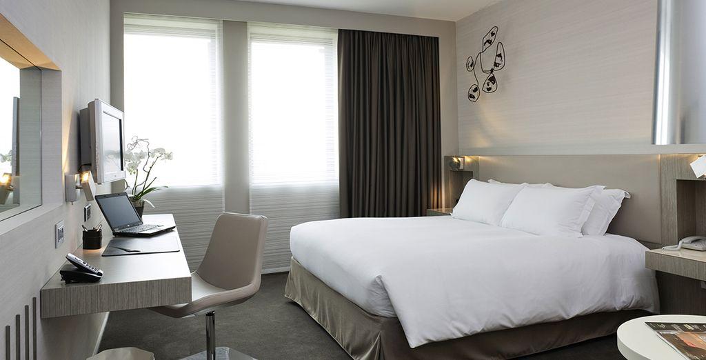 Hôtel de luxe cinq étoiles tout confort au cœur de la ville de Toulouse