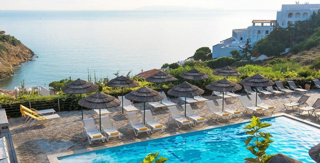 C'est un oasis de détente qui vous attend en Crète... - Hôtel Blue Bay Resort & Spa 4* Aghia Pelagia