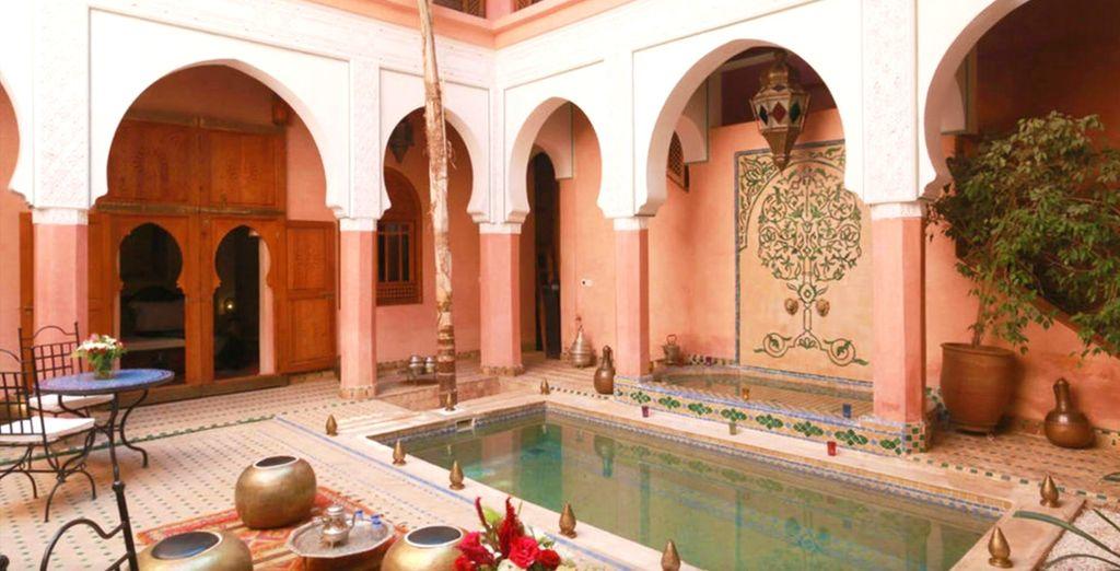 voyage maroc riad