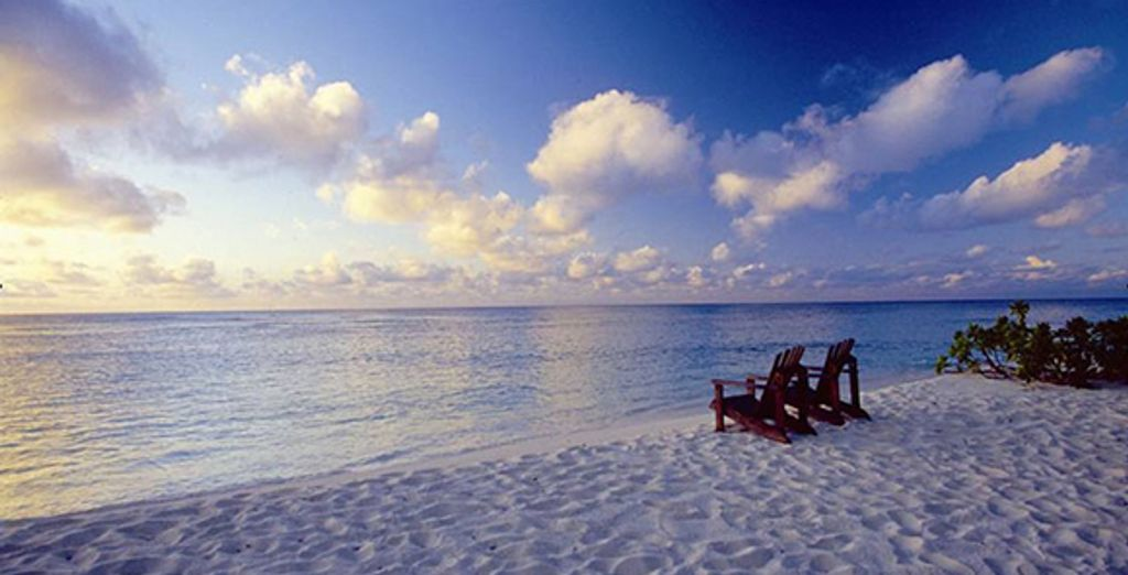 Et proposant votre propre plage privée